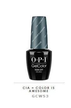 OPI - GelColor - CIA -...